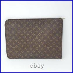 100% Auth Louis Vuitton Laptop/ Document/Clutch Bag