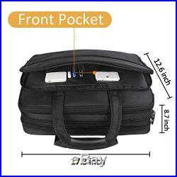 17 Laptop Bag LARGE Business Briefcase For Men Women Travel Case Shoulder Water