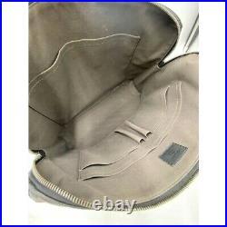 $2660 Louis Vuitton Porte Porte-documents Black Damier Infini Leather Laptop Bag