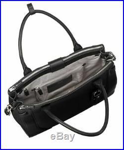 $595 TUMI LEATHER BAG Stanton Kiran Laptop Tote 13 Inch Computer Bag Women