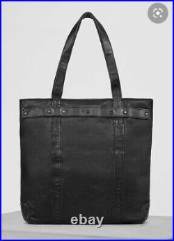 ALL SAINTS STORM Luxury Vachetta Leather TOTE Hand Bag, Unisex, Laptop Slee £285