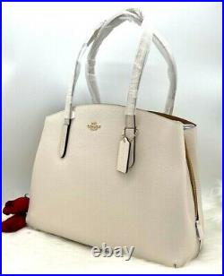 AUTH NWT $450 Coach 1941 Charlie 40 Laptop Compartmen Carryall Tote Bag In Chalk