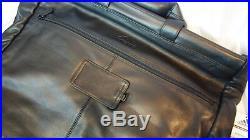 Adidas Garment Bag Black Leather Men's Womens Rare Bookbag Laptop Bag Travel NWT