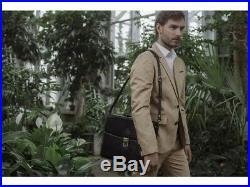 Attache Case Lawyer Womens Briefcase Mens Laptop Messenger Bag Leather / Wallet