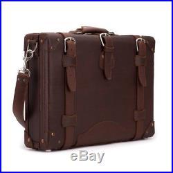 Attache Lawyer Womens Mens Messenger Bag Leather Briefcase Laptop Case Catalog