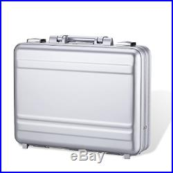 Attache case Metal Aluminum for men women Business foam Laptop Briefcase