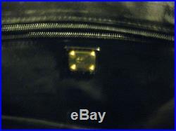 Authentic MCM LAPTOP BAG in black - excellent condition