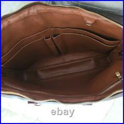 Authentic Vintage used Louis Vuitton laptop documents bag
