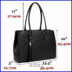 BFB Laptop Tote Bag for Women Luxury Designer Computer Bag Handmade Vegan Le