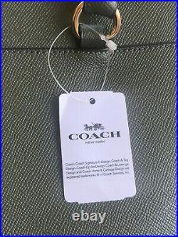 BNWT Coach Laptop Bag Military Green