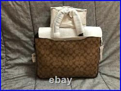 BRAND NEW Coach Compact Brief/Laptop Bag
