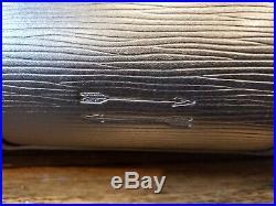 Ben Minkoff Black Epi Leather Tote Satchel Briefcase Bag Men's Women's Laptop