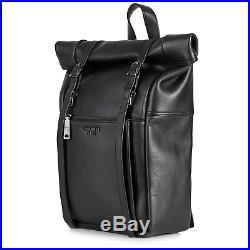 Berliner Bags Backpack Lille Leather Laptop Rucksack Luxury Men Women Black