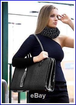 BfB Laptop Bag for Women Handmade Designer Briefcase Messenger 17 Inch Bag