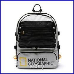 Big Logo Prime Backpack Bag Men Women Travel Laptop Hiking National Geographic