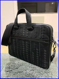 Bottega Veneta Brief Case Laptop Bag Men/women AUTHENTICATED