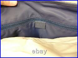 Brand New Authentic GUCCI Blue Nylon Large Messenger/Laptop Bag WithDust Bag