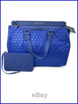 Brand New Dkny Dt170sg7 Signature Professional Indigo Blue Women's Laptop Bag