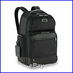 Briggs & Riley @Work Large Laptop Backpack for women and men. Fits up to Black