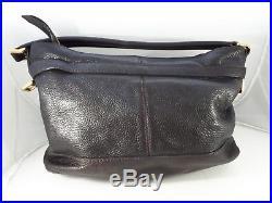 Burberry Laptop Tablet Work Brown Genuine Leather Hobo Mens Womens Messenger Bag