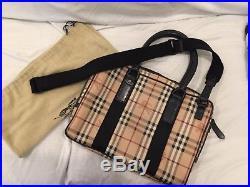 Burberry Messenger Laptop Tote Bag For Men / Women