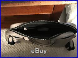 COACH Womens LAPTOP BAG Handbag Briefcase LEATHER CROSSBODY