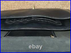 COACHBeekman BriefcaseBlack LeatherMessenger / Laptop BagEXCELLENT