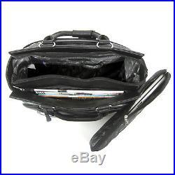Cabrelli Peyton Plaid Women's Rolling Bag Laptop Case Wheeled Briefcase 717015U