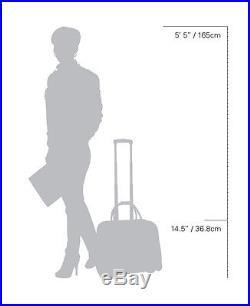 Cabrelli Sally Stripe Rolling Laptop Briefcase Women's Bag Wheeled Case 716020U