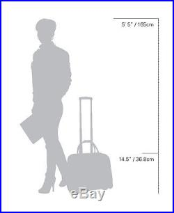 Cabrelli Tasha Tassel Womens Rolling Laptop Briefcase Wheeled Case Bag 717022U