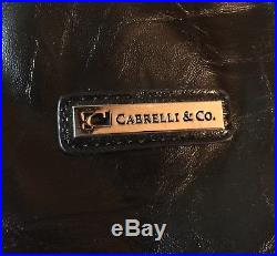Cabrelli and Co. Rolling/Wheeled Laptop Briefcase Women's Bag NWT
