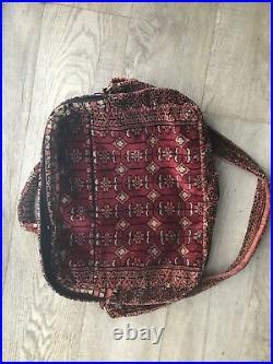 Carpet Bags Of Suffolk Laptop Shoulder Document Carry On Bag Excellent Condition