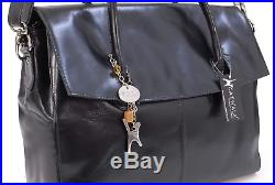 Catwalk Collection Handbags Ladies Extra Large Leather Body Bag Women's Work