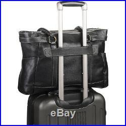 Clark & Mayfield Hawthorne Leather 17.3 Laptop Handbag Women's Business Bag NEW