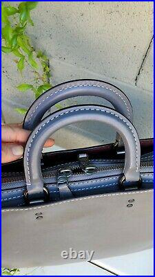 Coach 1941 Rogue Brief laptop GloveTanned leather bag purse shoulder tote 11647