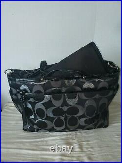 Coach Baby Diaper Laptop Travel Multifunction Messenger Shoulder Bag
