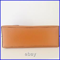 Coach Mollie Large Tote Laptop Bag Sedona Redwood Orange Leather Purse NWT $378