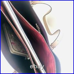 Coach Mollie Large Tote Purse Wallet Set Laptop Bag Taupe Watermelon NWT $606