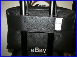 Coach NY Signature 22 Carry On Spinner & Matching Trex Laptop Trolley Bag, NWT