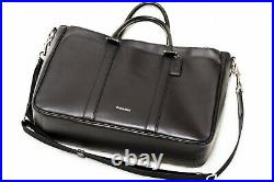 Coach Perry Metropolitan Tote Laptop Bag- Black