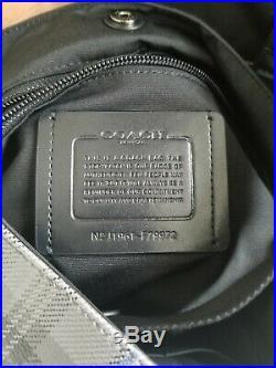Coach Womens Plaid Hamilton Portfolio Brief Briefcase Business Bag Laptop Case