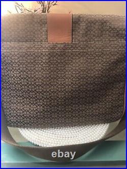 Coach laptop/diaper/tote bag/toiletry bag