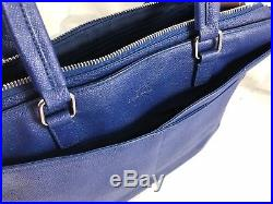 Cole Haan American Airlines Women's Leather Business Brief Tote Laptop Bag $395