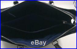 Cole Haan American Airlines Womens Black Leather Business Brief Tote Laptop Bag