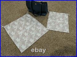 Dagne Dover Allyn Tote Medium Ash Blue Laptop Purse Bag