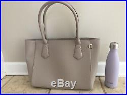 Dagne Dover Women's Laptop Signature Tote Bag Classic size in Bleecker Blush
