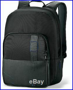 Dakine LARK 23L Womens Black Leather 15 Laptop Backpack Bag Onyx NEW
