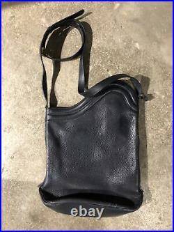 Delvaux of Bruxelles Leather laptop shoulder bag