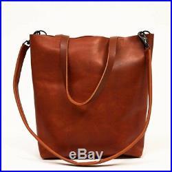 Distressed Leather women Briefcase Laptop travel Messenger Shoulder Bag Satchel