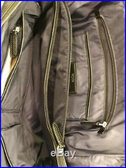 Excellent condition Womens black Tumi Saffiano Leather computer/laptop bag